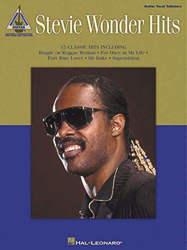 9780793598199: Stevie Wonder Hits (Guitar Recorded Versions)