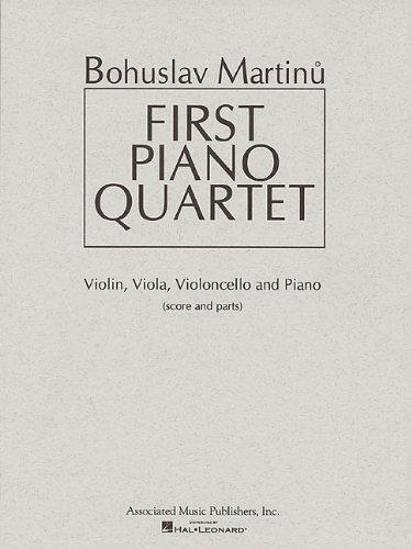9780793598311: First Piano Quartet