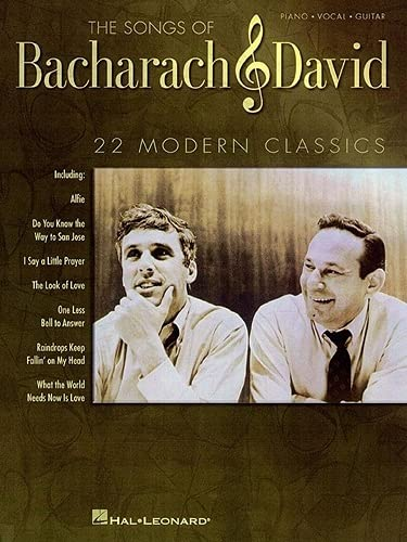 9780793598397: The Songs of Bacharach and David