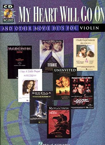 """9780793599042: """"My Heart Will Go On"""" and Other Movie Hits for Violin (Book & CD)"""