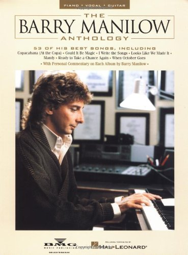 9780793599455: The Barry Manilow Anthology (Piano Vocal Guitar)