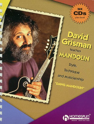 9780793599530: David Grisman Teaches Mandolin [With 6 CD's]