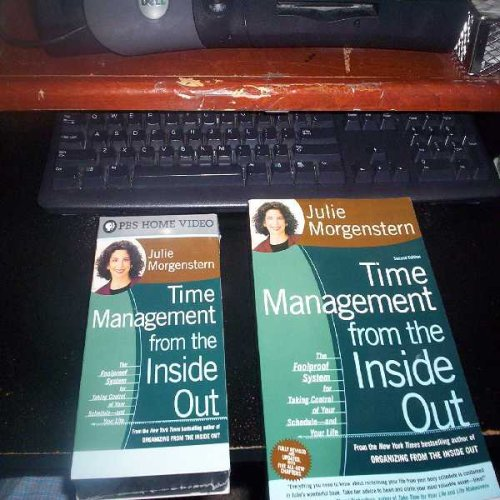 9780793690596: Time Management From the Inside Out with Julie Morgenstern (Video Tape & Book Together) (VHS 60 Minutes)