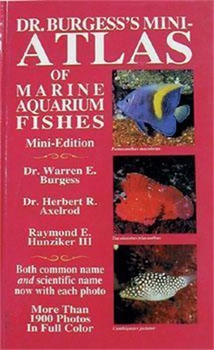 9780793800322: Dr. Burgess' Mini Marine Atlas