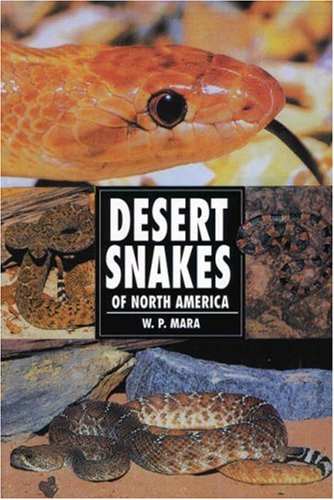 9780793820474: Desert Snakes of North America (Herpetology series)