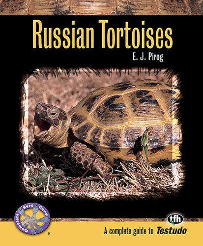 9780793828821: Russian Tortoises (Complete Herp Care)