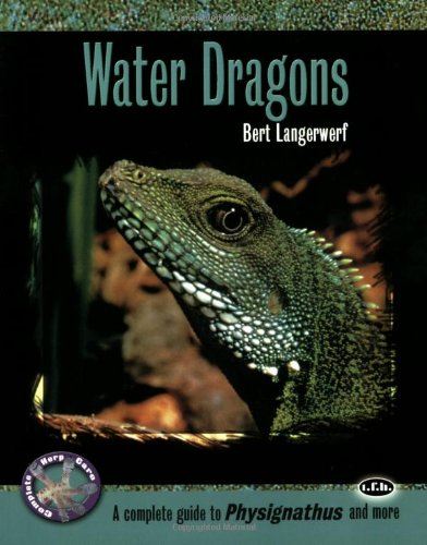 Water Dragons: A Complete Guide to Physignathus and More (Complete Herp Care): Langerwerf, Bert