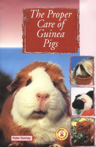 The Proper Care of Guinea Pigs: Gurney, Peter