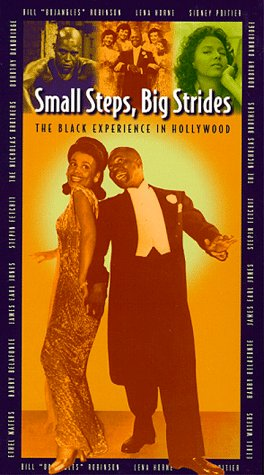 9780793903337: Small Steps Big Strides: The Black Experience in Hollywood [VHS]