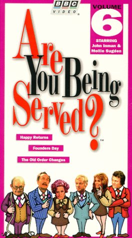 9780793927531: Are You Being Served:Happy Returns [VHS]