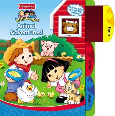 Animal Adventures (Fisher-Price Little People): Weiss, Ellen