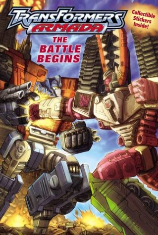 Transformers Armada:The Battle Begins (9780794401023) by Michael Teitelbaum; Dreamwave