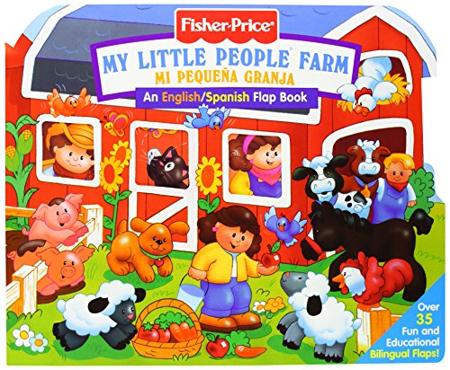 9780794402136: Fisher Price Farm / Mi Pequena Granja/Bilingual Lift the Flap (Fisher Price Lift the Flap)