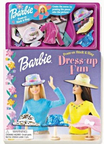 9780794403553: Barbie Dress Up Fun (Barbie Press On Stick & Stay)