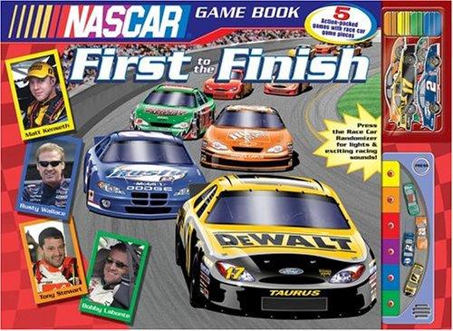 9780794404376: NASCAR First to the Finish (Nascar Game Book)