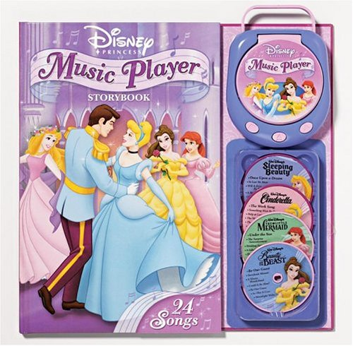 9780794404444: Disney Princess Music Player Storybook