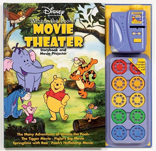 9780794405229: Disney Winnie the Pooh Movie Theater Storybook & Movie Projector