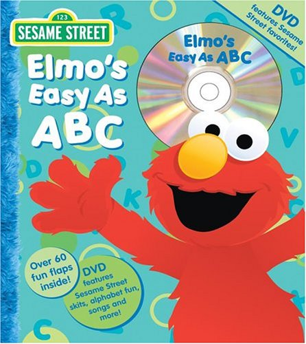 9780794406844: Sesame Street Elmo's Easy as ABC Book and DVD (Flap Book and DVD)