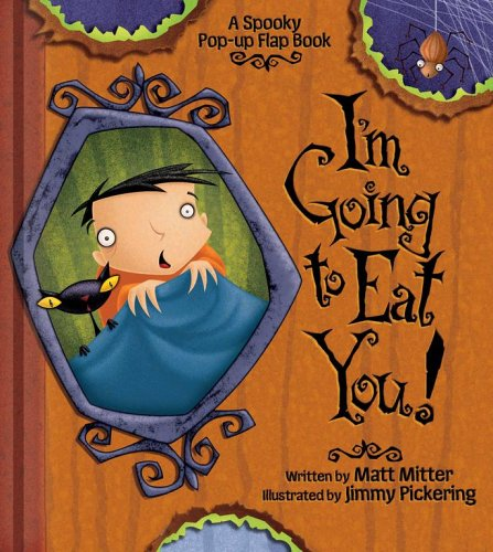 9780794407674: I'm Going to Eat You!: A Spooky Pop-Up Flap Book (A Pop-Up Flap Book)