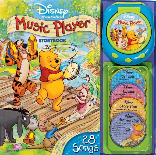 9780794407681: Disney Winnie the Pooh Music Play Storybook [With Music Player and 4 Disk]