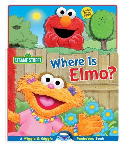 9780794407766: Where Is Elmo?: A Wiggle & Giggle Peekaboo Book (Sesame Street)