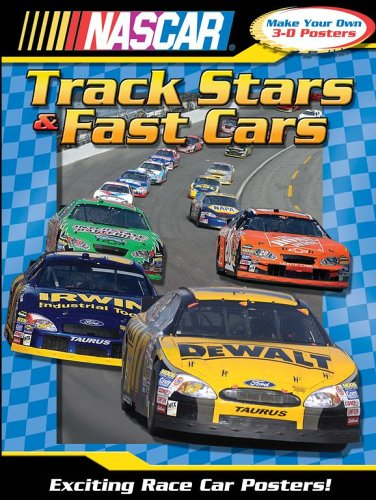9780794407827: NASCAR Tracks Stars and Fast Cars (3-D Poster Book)