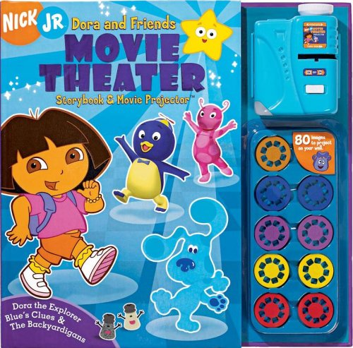 9780794407834: Nick JR. Dora & Friends Movie Theater Storybook & Movie Projector [With Movie Projector] (Nick Jr. Movie Theater)