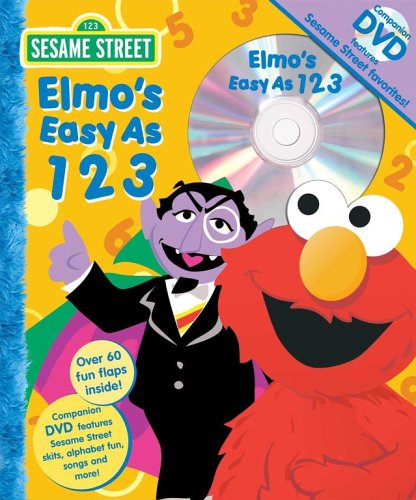Sesame Street Elmo's Easy as 123 Book and DVD (Sesame Street (Reader's Digest)) (0794410189) by Carol Monica