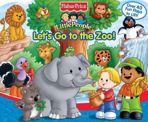 9780794411121: Let's Go to the Zoo (A-Lift-the-Flap Play Book)
