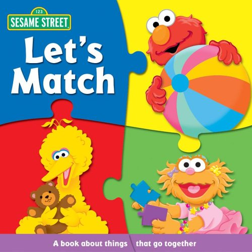 Sesame Street Let's Match (Sesame Street (Reader's Digest)) (0794412122) by Carol Monica; Christopher Moroney