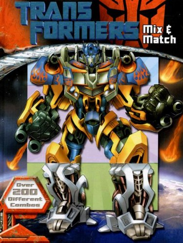 Transformers Mix & Match: Roe, David.