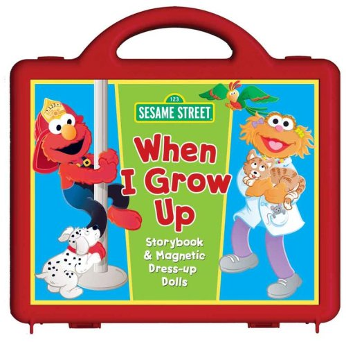 9780794412906: Sesame Street When I Grow Up Book and Magnet Set: Storybook and Magnetic Dress-up Dolls