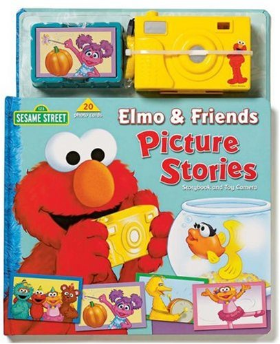 9780794413118: Sesame Street Elmo & Friends Picture Stories Storybook and Toy Camera
