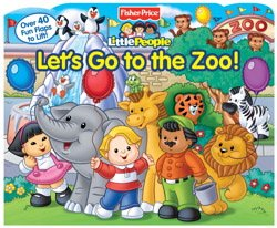 Animals All Around: My Big Book of Flaps: Fisher Price, Little People