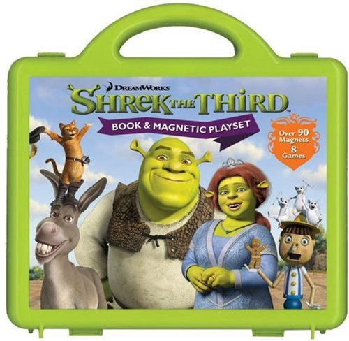 9780794413569: Shrek the Third Book and Magnetic Play Set