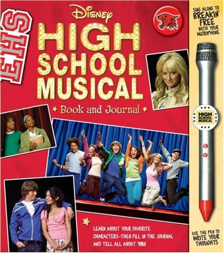 9780794413927: Disney High School Musical Book and Microphone Pen