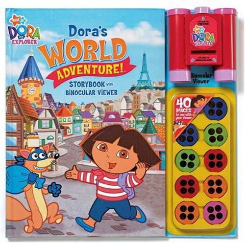 Nick Jr Dora's World Adventures Storybook and Binocular Viewer (Dora the Explorer (Reader's Digest)) (0794414338) by Reader's Digest