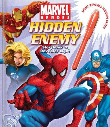 Marvel Heroes Hidden Enemy Storybook and Revealer Light: Benjamin Harper
