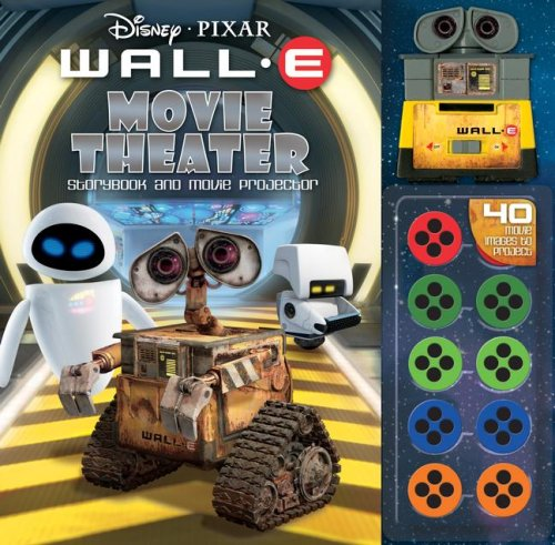 Disney Pixar Wall-E Movie Theater Storybook & Movie Projector (9780794414719) by Reader's Digest