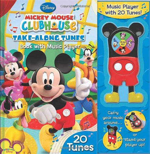 9780794416003: Mickey Mouse Clubhouse Take-Along Tunes: Book with Music Player, 20 Tunes