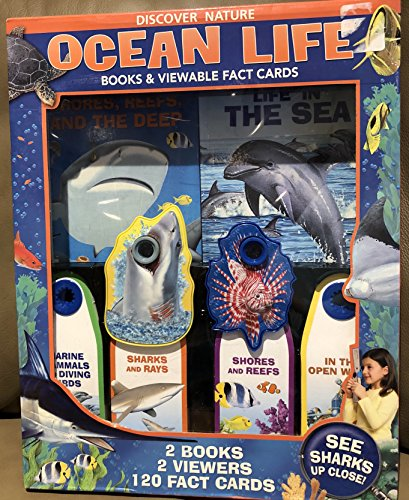 9780794416164: Discover Nature Ocean Life: Books & Viewable Fact Cards