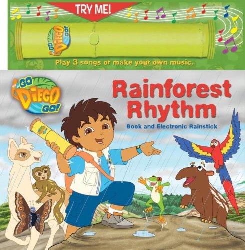 9780794416171: Nick Jr. Go, Diego, Go! Rainforest Rhythm Book & Electronic Rainstick