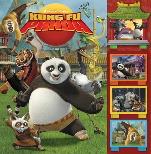 9780794416508: Dreamworks Kung Fu Panda Storybook and Scrolling Scenes (Rd Innovative Book and Player Format)