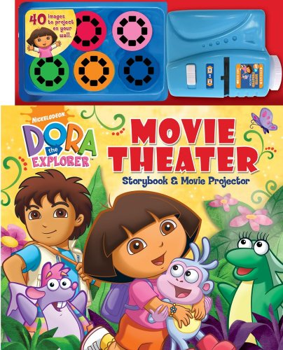 Dora the Explorer Movie Theater Storybook & Movie Projector (Nickelodeon Dora the Explorer): ...