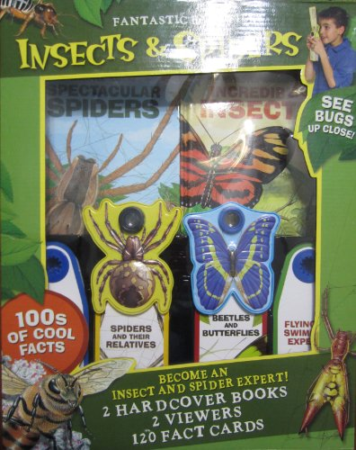 9780794416799: Reader's Digest: Insects & Spiders: 2 Hardcover Books, 2 Viewers, 120 Fact Cards