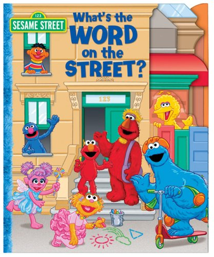 9780794416959: Sesame Street What's the Word on the Street? (123 Sesame Street)