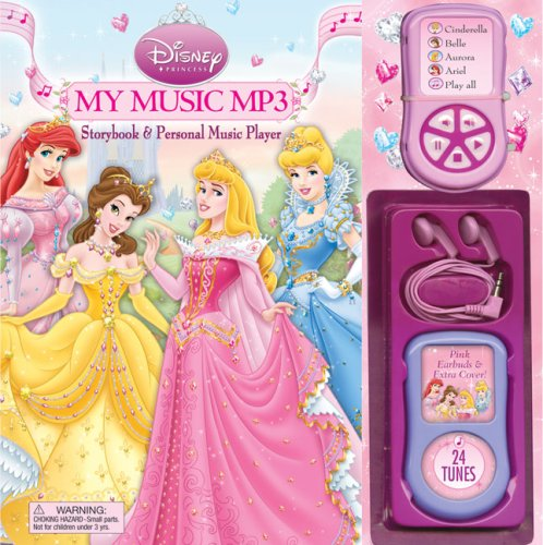 9780794418533: Disney Princess My Music MP3: Storybook & Personal Music Player (Disney Princess (Reader's Digest))