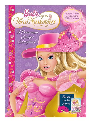 9780794418724: Barbie and the Three Muskateers: A Panorama Sticker Storybook
