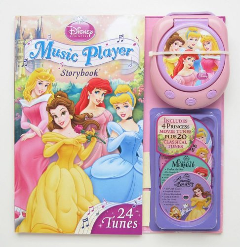 9780794418878: Music Player Storybook [With Music Player and 4 CDs] (Disney Princess)