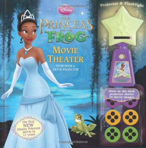 The Princess and The Frog Movie Theater Storybook & Movie Projector (9780794418892) by Disney Princess
